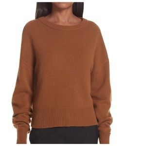 THEORY Cashmere Sweater Drop Shoulder Crewneck S